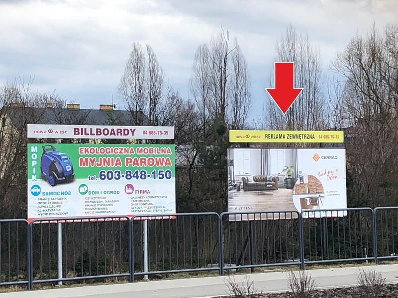 Billboard Biłgoraj, al.Jana Pawła II (2)
