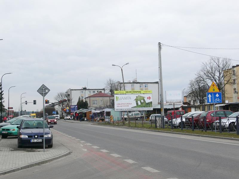 Billboard Biłgoraj, ul.Monte Cassino 16