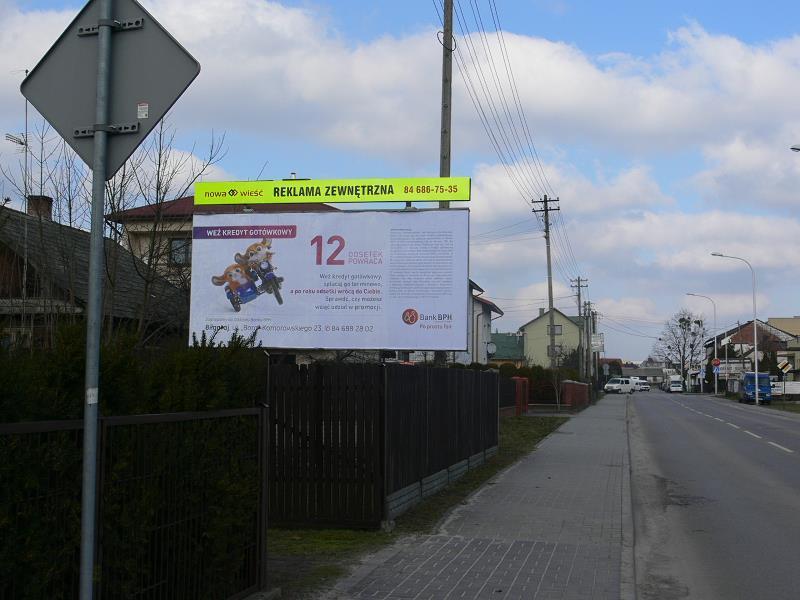 Billboard Biłgoraj, ul.M. Konopnickiej