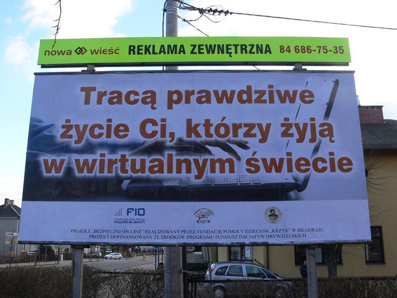 Billboard Biłgoraj, ul.Kościuszki