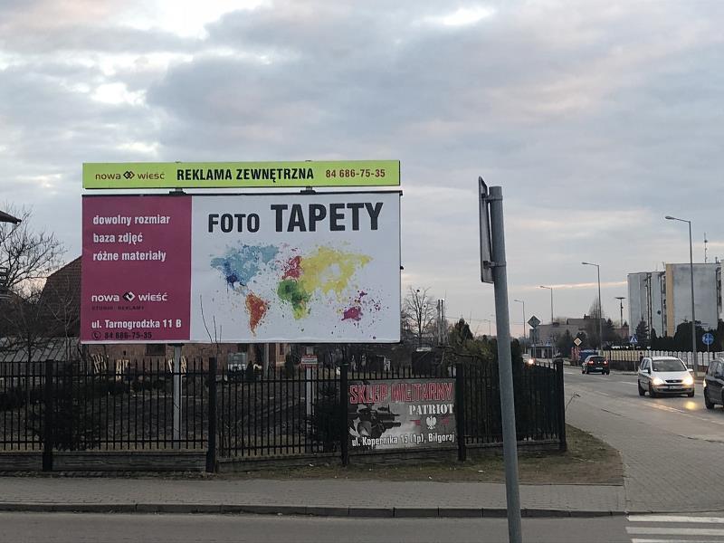 Billboard Biłgoraj, ul.Poniatowskiego