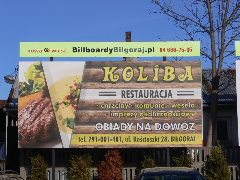 Billboard Biłgoraj, Galeria Natura (2), ul.Bohaterów Monte Cassino