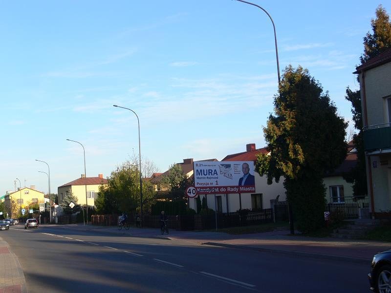 Billboard Biłgoraj, ul.Zamojska